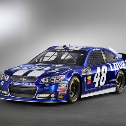 2013 NASCAR Chevrolet SS team car