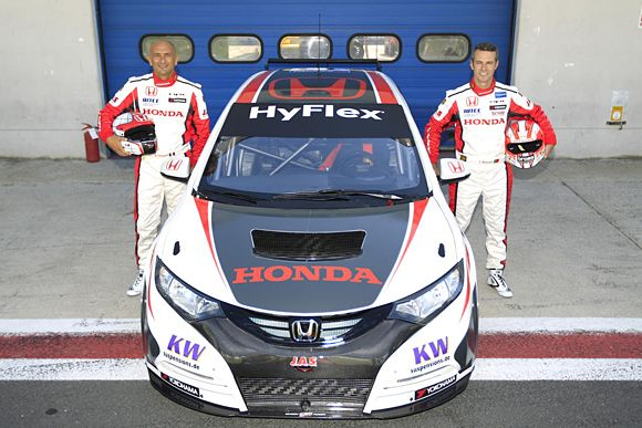 Honda Civic WTCC - Honda Racing Team JAS