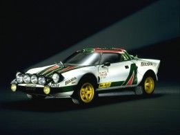 Lancia Stratos version rallye