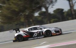 FIA GT Series test Paul Ricard - Audi R8 LMS ultra