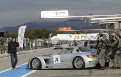 FIA GT Series test Paul Ricard - Mercedes SLS AMG GT3