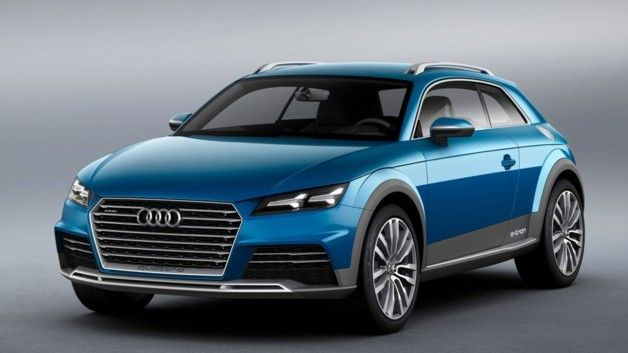 Audi Allroad Shooting Brake Concept Car 2014