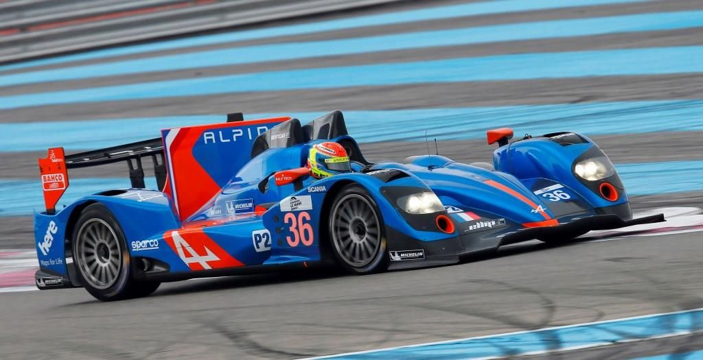 MOTORSPORT - ENDURANCE 2014 - ELMS EUROPEAN LE MANS SERIES 2014 - TESTS LE CASTELLET - CIRCUIT PAUL RICARD (FRA) - 1 TO 2/04/2014 - PHOTO JEAN MICHEL LE MEUR / DPPI - 36 ALPINE A 450 TEAM SIGNATECH ALPINE / ACTION
