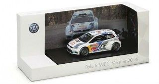 polo wrc miniature