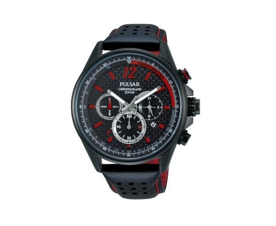 montre-pulsar-racing-pt3547-rouge