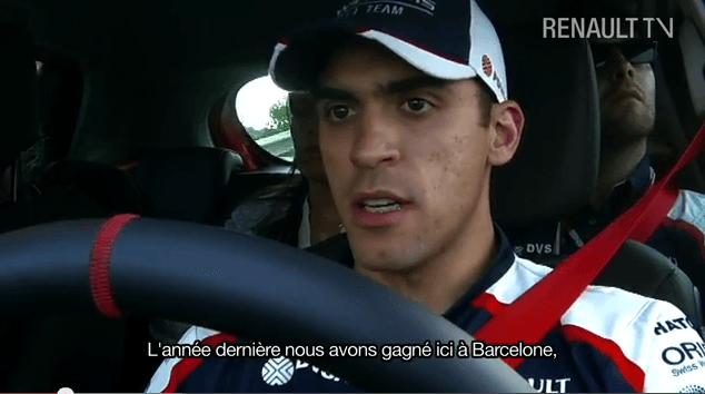 L'interview de Pastor Maldonado