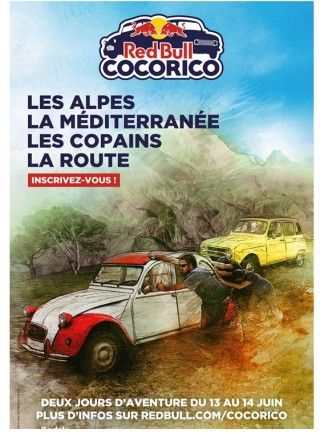 Affiche Red Bull Cocorico