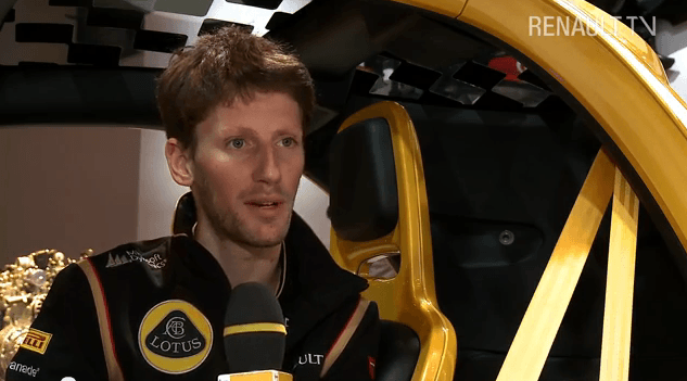 L'interview de Romain Grosjean !